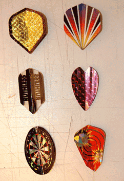 Try different dart flights