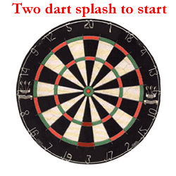 Two dart splash to start
