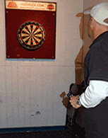 Throw with your opposite hand to rethink your dart throw