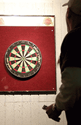 Good lighting is critical to darts